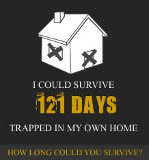 How Long Could You Survive Trapped In Your Own Home?